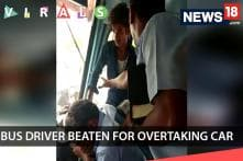 Bus Driver Beaten For Overtaking Car