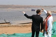 Modi and Macron Inaugurate UP's Biggest Solar Power Plant Built by French Firm