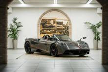 Dainese Designs New Fabric Soft Top for Pagani Huayra Roadster