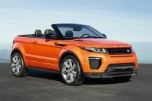 Range Rover Evoque Convertible Launched in India for Rs 69.53 Lakh