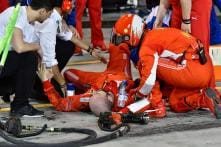 Ferrari Fined 50,000 Euros After Mechanic Injured by Kimi Raikkonen at Bahrain Formula 1 GP