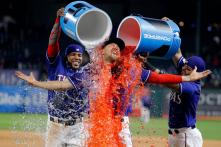 Baseball Players Get Doused With Ice Water; See Photos