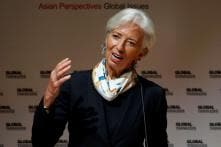 Global Economy Growing More Slowly Than Expected, Says Christine Lagarde