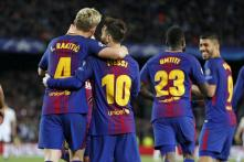 Champions League: Own Goals Give Barcelona Huge Advantage Against AS Roma