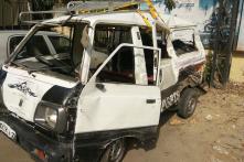 Day in Photos - Apr 26: Delhi School Van-Tanker Collision; Kushinagar Accident; Ford Freestyle Launch