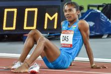 Hima Das' Coach Nipon Das Accused of Sexual Assault by Another Athlete