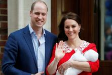 Adorable! First Pics of Kate And William's Royal Baby