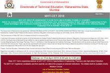 MHT CET Admit Cards 2018 Released at dtemaharashtra.gov.in, Download Now