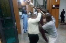 Intruders Storm Nigerian Parliament And Snatch Mace: Senate Spokesman