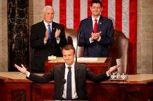 France's Emmanuel Macron Says US Should Not Ditch Iran Deal Without New Accord