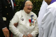 World War II 'White Angel' Who Nursed Wounded Soldiers Dies Aged 103