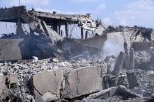 Shocking Pictures Show Aftermath of Air Strikes in Syria
