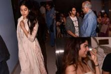 Beyond The Clouds: Jahnvi Kapoor Extends Support To Ishaan Khatter; Attends Screening With Family