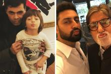This Photo of Amitabh Bachchan and Abhishek Bachchan Is a Potential Competition For Karan Johar's Pout