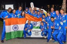 Commonwealth Games 2018: Indian Flag-Hoisting Ceremony