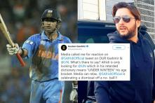 Gautam Gambhir Loses His Cool After Shahid Afridi Expresses Worry Over 'Kashmir Bloodshed'