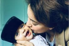 These Candid Pictures of Kangana Ranaut With Nephew Prithvi Raj are Too Cute to Miss Out!