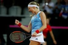 Mladenovic Draws France Level With US in Fed Cup Semis
