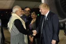 PM Modi Begins UK Tour, to Garland Basaveshwara Statue He Inaugurated in 2015
