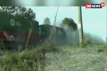 Watch: Truck Hits Train in U.S