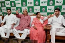 CBI Files Chargesheet Against Lalu, Rabri, Tejashwi in IRCTC Case