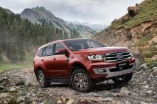 2018 Ford Everest (Endeavour) SUV Facelift Unveiled With Styling Updates
