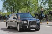 Russian President Vladimir Putin Rides-in New Kortezh State Car at Inauguration Ceremony in Kremlin [Video]