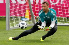 Germany's Manuel Neuer Injury-free at Start of Pre-World Cup Camp