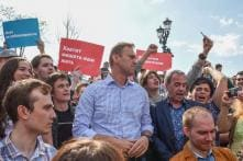 Russian Opposition Leader, Alexei Navalny and Over 1000 Anti-Putin Demonstrators Detained