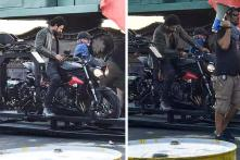 Baahubali Star Prabhas Spotted on Triumph Street Triple RS During Sahoo Shoot