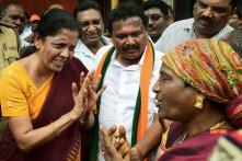 Union Defence Minister Nirmala Sitharaman Campaigns for BJP in Karnataka