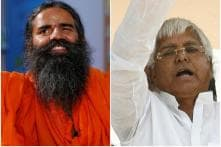 Ramdev Meets Lalu, Asks Him to Take up Yoga for Better Health