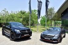 Mercedes-AMG GLE 43 4MATIC Coupe 'OrangeArt' and SLC 43 'RedArt' Limited Editions Launched in India