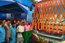 Minister Inaugurated Delhi Bus Service From Bihar 2 Days Before Accident