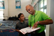 Son of Indian-American Spelling Bee Champ Hopes to Make History