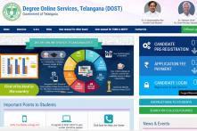 Telangana DOST 2018 Registration Begins at dost.cgg.gov.in; Apply Online by May 26 for 6 Universities