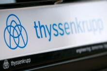 Shares Fall As Thyssenkrupp Cuts Outlook for Capital Goods