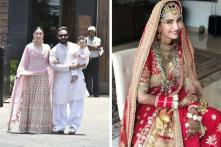 Sonam Kapoor-Anand Ahuja Wedding: Kareena, Saif and Taimur Steal the Show in Colour-Coordinated Ensembles