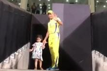 Ziva Dhoni Switches Camps, Cheers for Rohit Sharma's Mumbai Indians