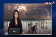 Watch: IMD Issues Thunderstorm Warning, Emergency Measures Put In Place