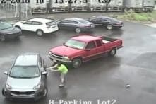Watch: Raging Driver Attacks Vehicle With Sledgehammer