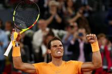 Rafael Nadal Eases Past Shapovalov, Novak Djokovic Back Challenging in Rome