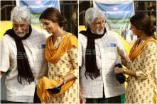First Pictures of Shweta Bachchan Nanda's Screen Debut With Father Big B Will Melt Your Hearts