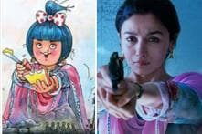 Alia Bhatt Can't Hide Her Excitement as Amul Girl Approves Raazi