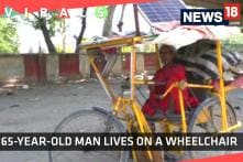 Watch: This 65-Year-Old Man Lives on a Wheelchair With a Solar Panel on The Roof