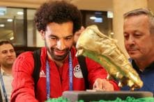 Chechen Fans Bring Smile to Mohamed Salah's Face with 100kg Cake