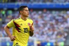 James Rodriguez Latest Footballer on Spanish Taxman's Hit-list