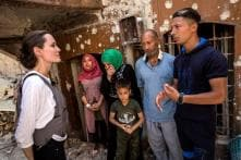 Angelina Jolie Meets Syrian Refugees in Iraq, Calls for Conflict Prevention
