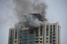 Fire at Beaumonde Towers Where Deepika Padukone Stays