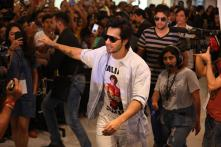 Complaint Filed Against Varun Dhawan's Aggressive Fan, Actor Wants His Loved Ones Safe